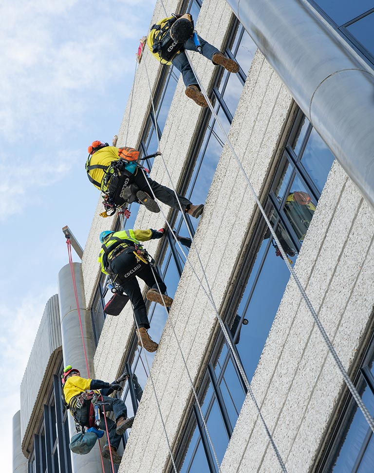 Industrial Rope Access training course