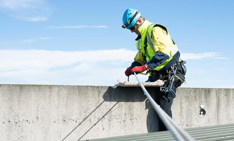 Industrial access training services working at heights
