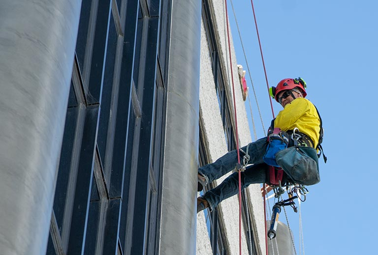 Rope access training course
