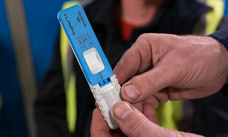Workplace safety services drug testing