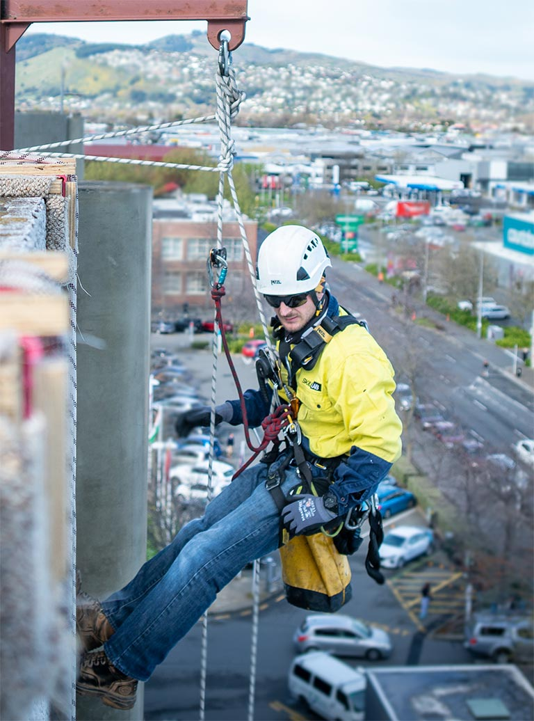 Custom working at height training course